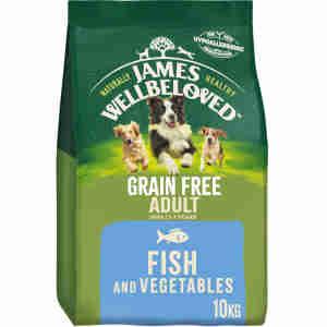 James Wellbeloved Dog Adult Fish & Vegetable Grain Free