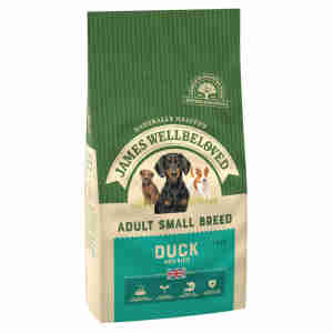 James Wellbeloved Dog Adult Small Breed Duck & Rice