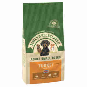 James Wellbeloved Dog Adult Small Breed Turkey & Rice