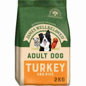 James Wellbeloved Dog Adult Turkey & Rice