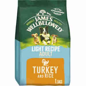 James Wellbeloved Dog Adult Turkey & Rice Light