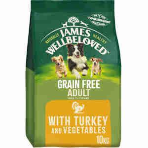 James Wellbeloved Dog Adult Turkey & Vegetable Grain Free