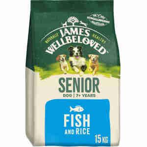 James Wellbeloved - Senior - Ocean White Fish & Rice