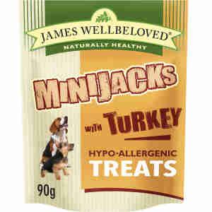 James Wellbeloved Minijacks Dog Snacks