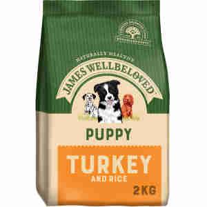James Wellbeloved - Puppy Performance - Turkey & Rice