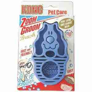 KONG ZoomGroom Rosborstel