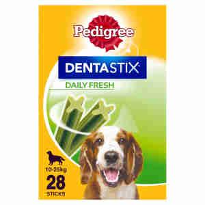Pedigree Dentastix Fresh Snack für mittelgrosse Hunde