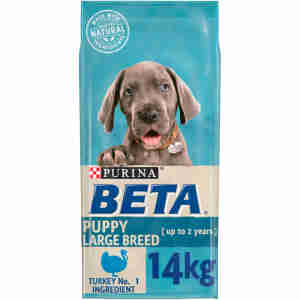 BETA Puppy Large Breed Dry Dog Food with Turkey
