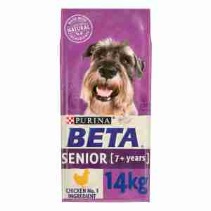 Purina Beta Senior Chien - Poulet & Riz 14kg