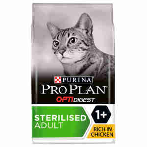 Purina PRO PLAN Housecat Optirenal Kip met Rijst