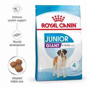 Royal Canin GIANT Junior Welpenfutter trocken für sehr große Hunde