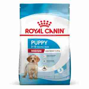 Royal Canin MEDIUM Puppy Welpenfutter trocken für mittelgroße Hunde