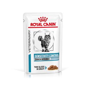 Royal Canin - Vet Diet Féline - Sensitivity Control en sachets