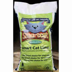 Smart Cat 100% Organic Wood Cat Litter