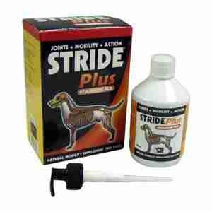 Stride Plus Liquid für Hunde und Katzen