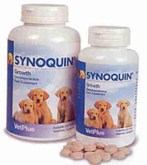 Synoquin Growth Tabletten für Hunde
