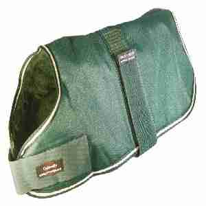 W R Outhwaite Green Padded Lining Waterproof
