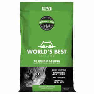 Litière World's Best pour chat