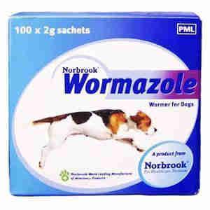 Wormazole Dog Wormer