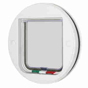 Cat Mate Glass Fitting Cat Flap 210