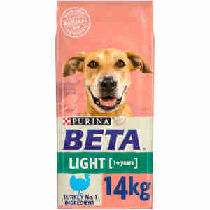 BETA Adult Light with Turkey & Rice 14kg