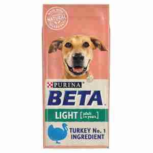 Purina BETA Adult Light Truthahn & Reis 14kg