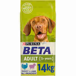 BETA Adult Dry Dog Food with Chicken & Rice 14kg