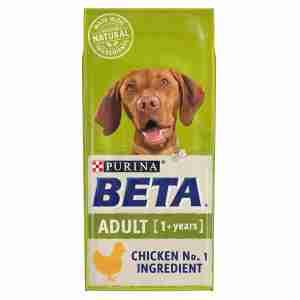 Purina BETA Adult met Kip en Rijst 14kg