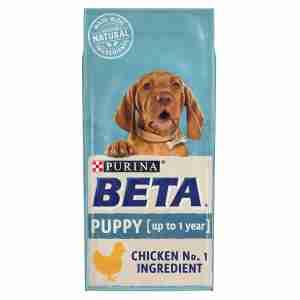 Beta Puppy Hundefutter für Welpen Huhn & Reis 14kg