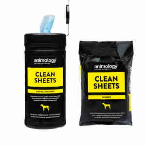 Lingettes Clean Sheets - Animology