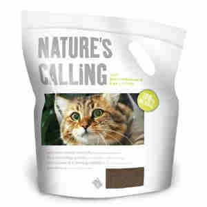 Natures Calling Cat Litter