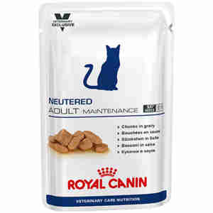Royal Canin Vet Care Feline Neutered Maintenance - Chat Adulte