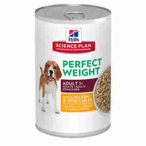 Hill's Science Plan Perfect Gewicht voer voor volwassen honden