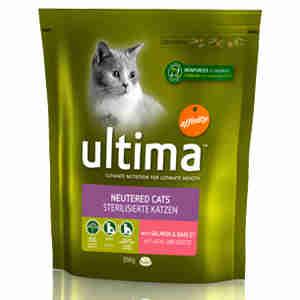 Ultima Cat Sterilized Salmon Dry Food