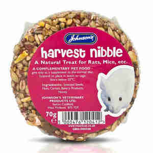 Johnsons Harvest Nibble Rat & Mouse