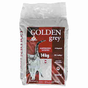 Golden Grey Cat Litter