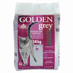 Litière Golden Grey Master pour chats