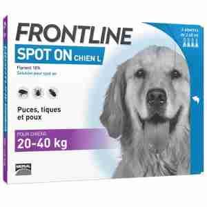 Frontline Spot On pour Grand Chien (20-40kg)