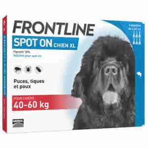 Frontline Spot On pour Très Grand Chien (40-60kg)
