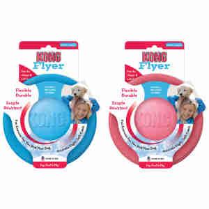 KONG - Puppy Flyer Frisbee für Welpen