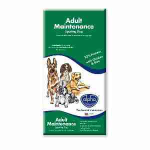 Alpha Adult Maintenance Sporting Dog Hundefutter