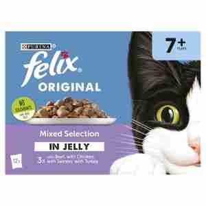 Felix Felix Senior Pouches Mixed Selection