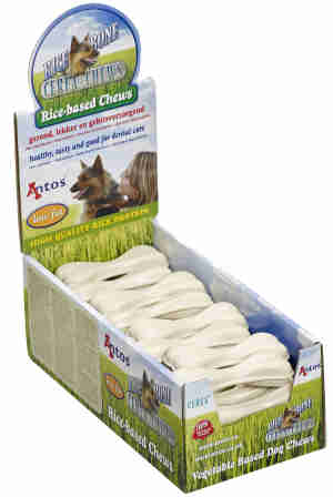 Antos Dog Snacks Rice Bone Bulk Pack