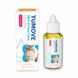 Yumega olie voor katten