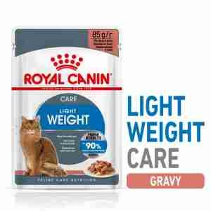 Royal Canin Ultra Light Nassfutter in Soße für übergewichtige Katzen