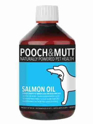 Huile de Saumon Pooch & Mutt