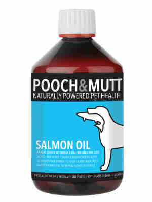 Pooch & Mutt Salmon Oil