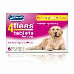 Johnsons 4Fleas Tablets