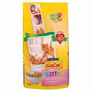 Go-Cat Complete Kitten - Poulet, Carottes & Lait