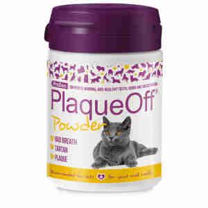Plaque Off Cat
